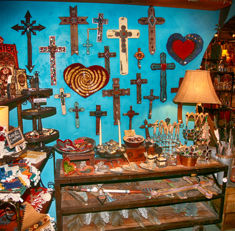 Crosses and Religious Gifts in Cave Creek