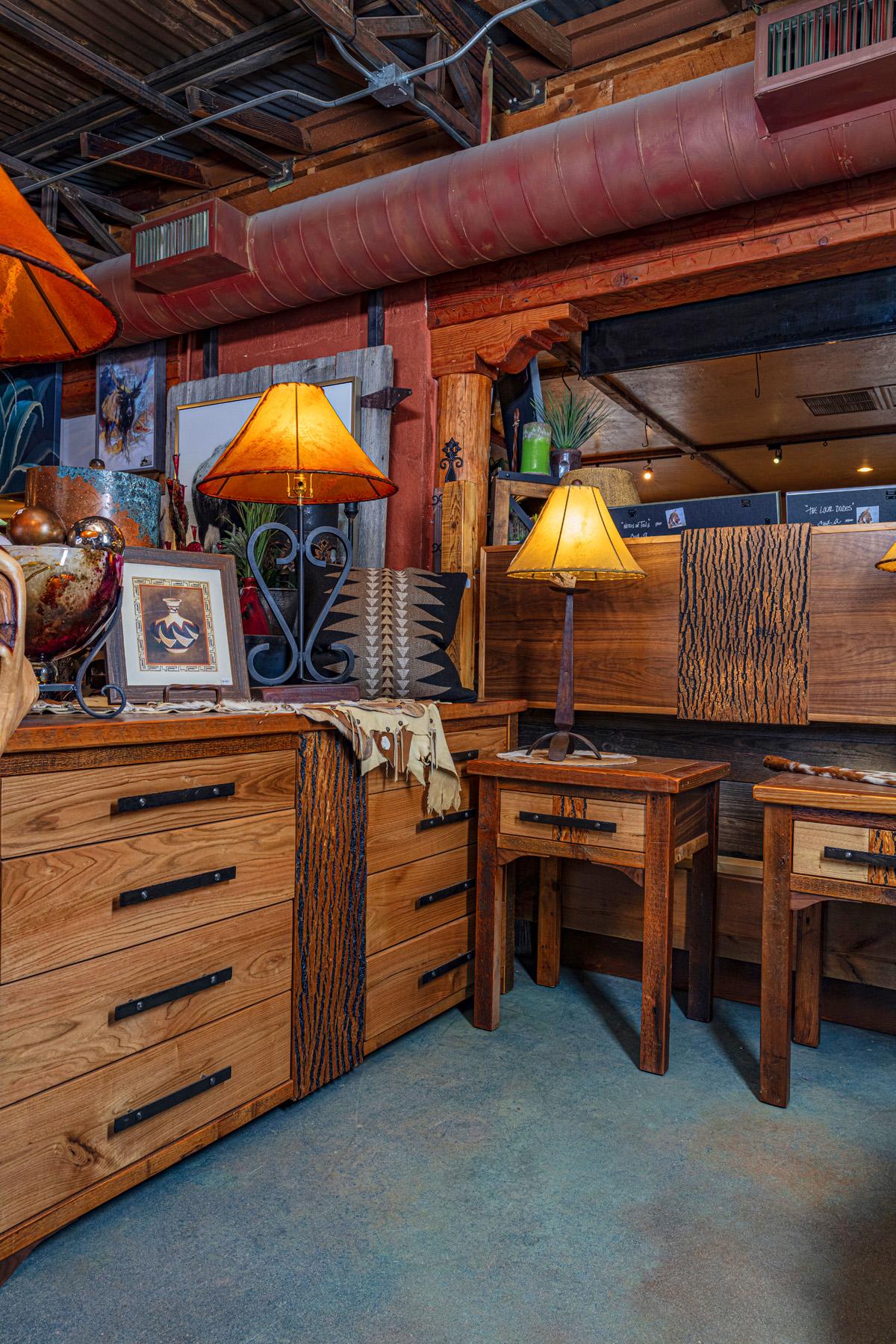 Rustic Bedroom Furniture Set